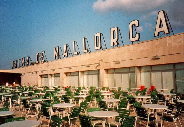 Mallorca vliegveld lang geleden
