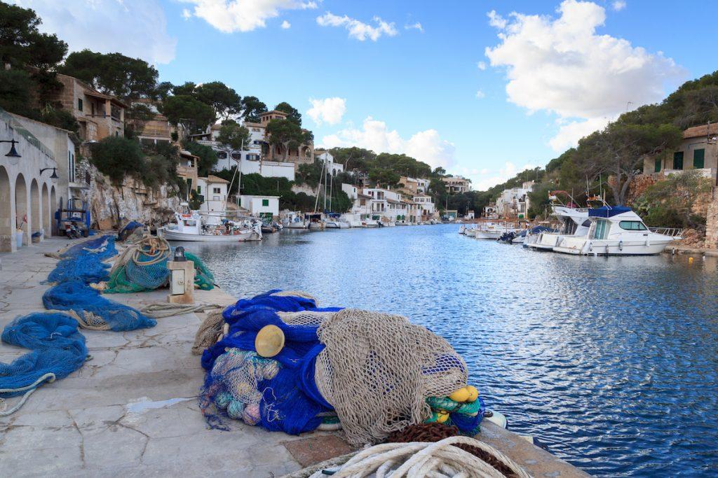 Cala Figuera schatttig vissersdorpje Mallorca