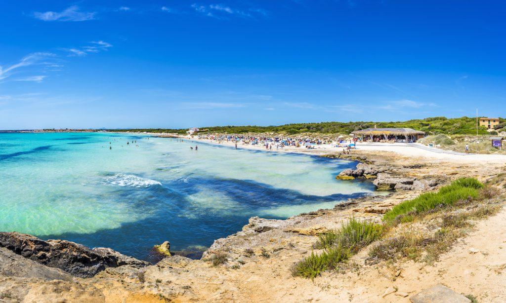 Es trenc één van de mooiste stranden van Mallorca