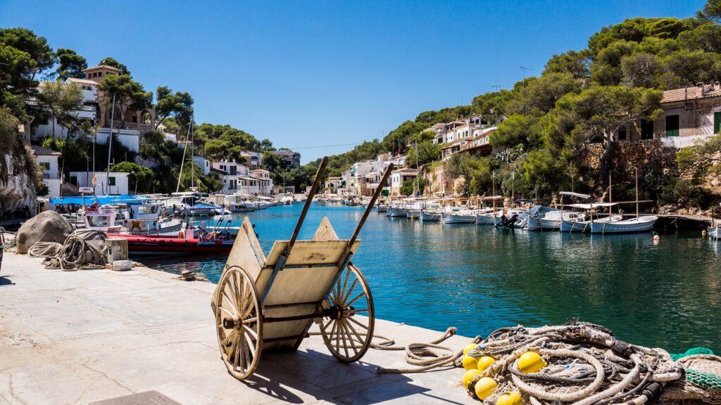 Mallorca status geel